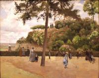 Camille_PissarroCamille_Pissarro_-_Camille_PissarroCamille_Pissarro_-_The_Public_Garden_at_Pontoise