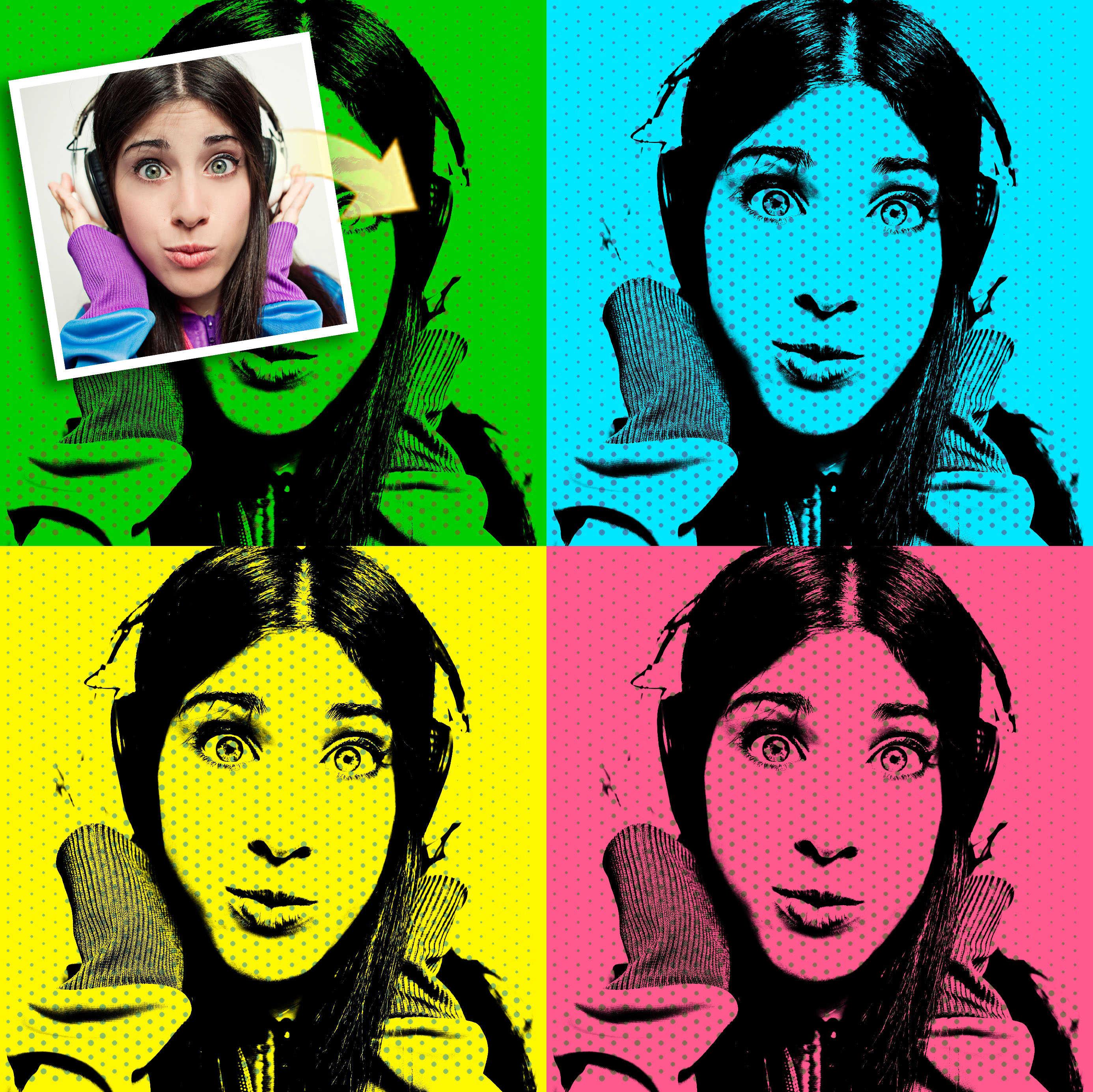 Как делать арты из фото на андроид